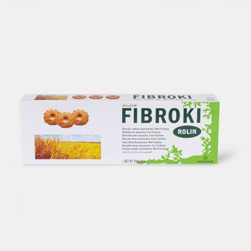Galletas integrales sin azúcar - Fibroki Rolin