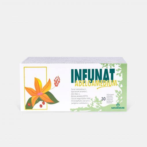Infusión digestiva y diurética para eliminar líquidos y grasas - Infunat