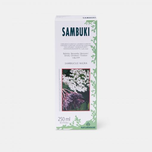 Jarabe de Saúco depurativo y diurético - Sambuki