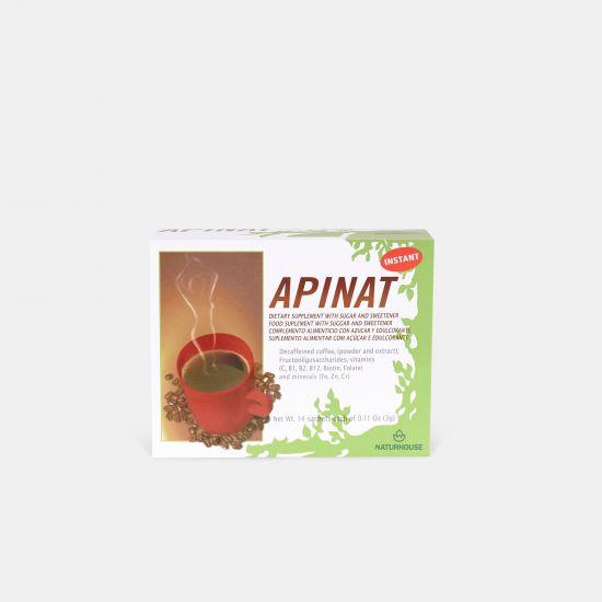 Café verde descafeinado en polvo - Apinat