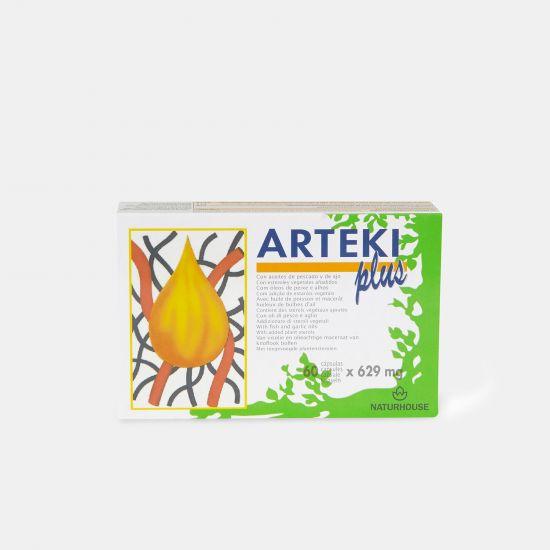 Cápsulas para controlar el colesterol en sangre - Arteki