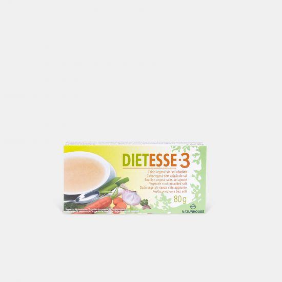 Caldo de verduras sin sal y sin glutamato - Dietesse