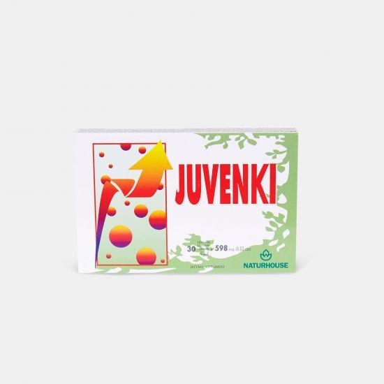 Cápsulas para retrasar el envejecimiento celular con betacaroteno - Juvenki