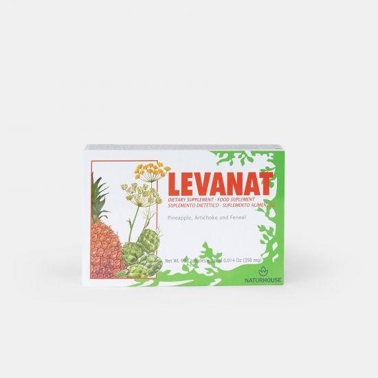 Cápsulas depurativas de alcachofa y piña - Levanat