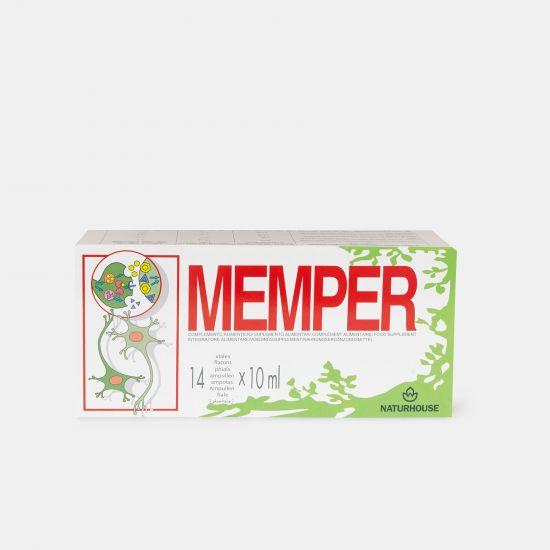 Complemento para la memoria , concentración y aprendizaje - Memper