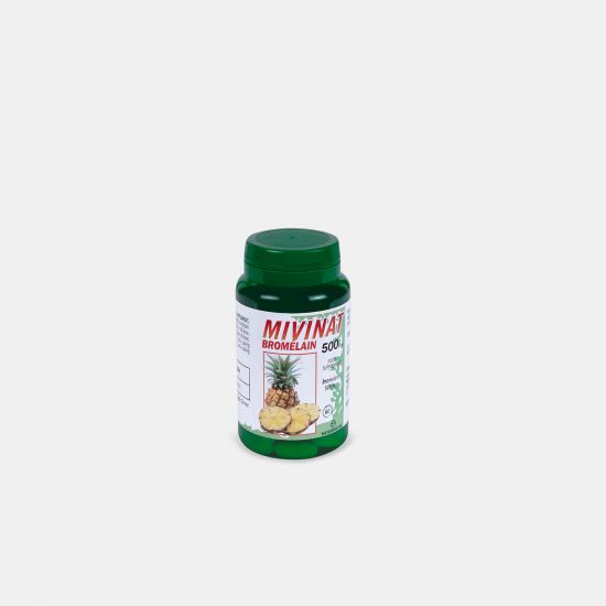 Comprimido antiinflamatorio de bromelaína - Mivinat