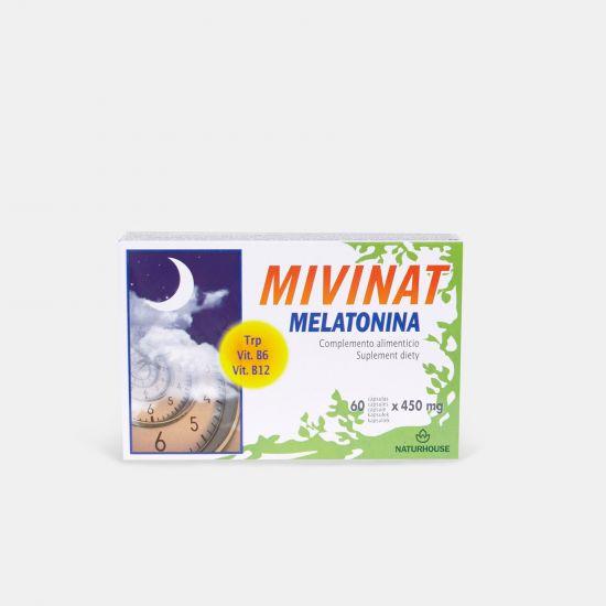 Producto natural para dormir con melatonina- Mivinat