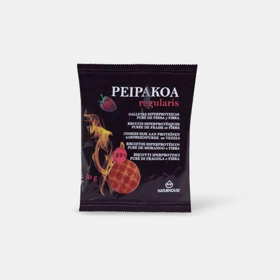 Galletas proteicas de fresa - Peipakoa Regularis