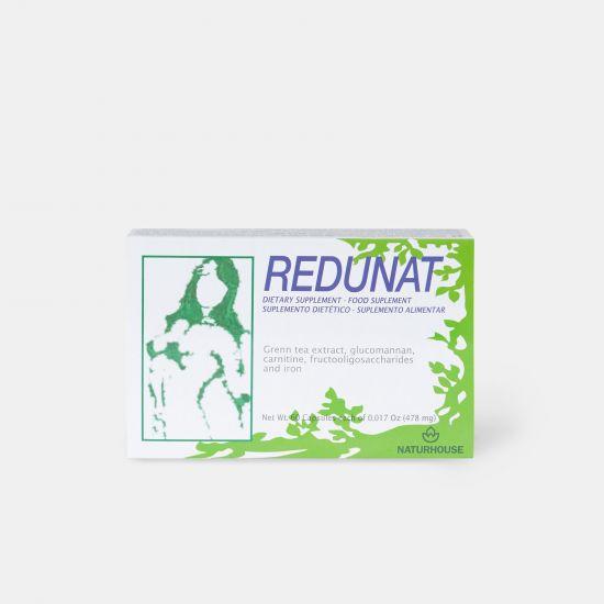 Cápsulas de té verde con L-Carnitina (60 cápsulas) - Redunat