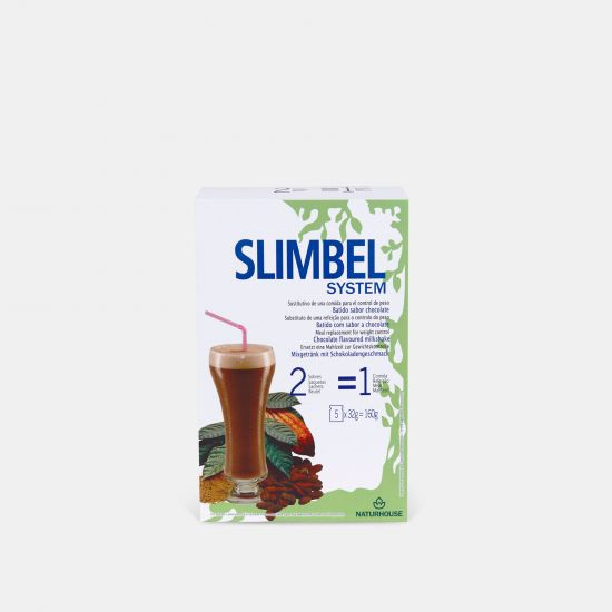 Batido de chocolate saludable sin azúcar - Slimbel System