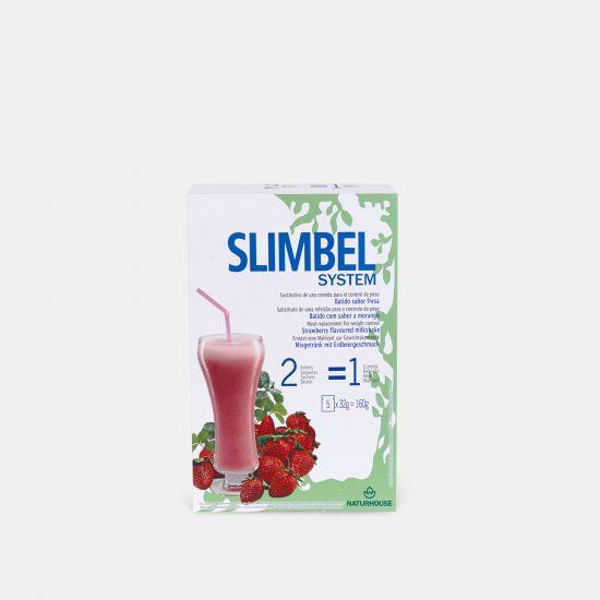 Batido de fresa natural saludable - Slimbel System